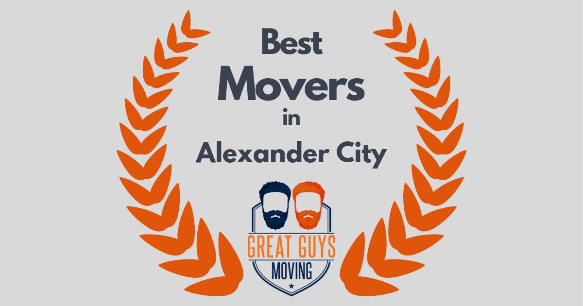 Best Movers in Alexander City, AL