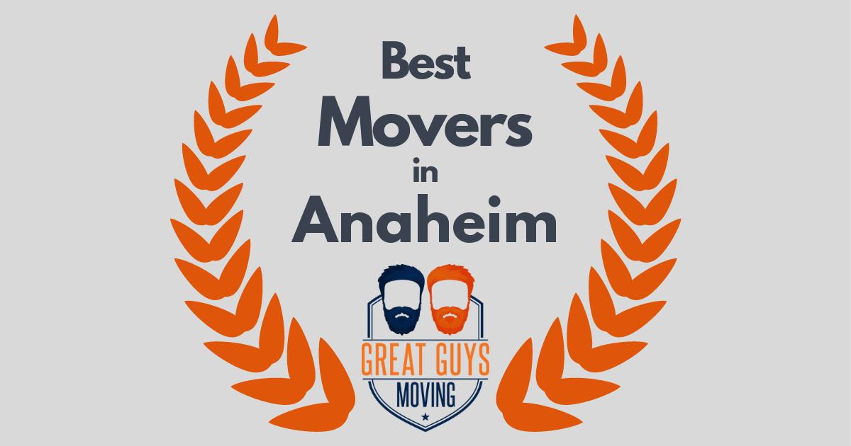 Best Movers in Anaheim, CA