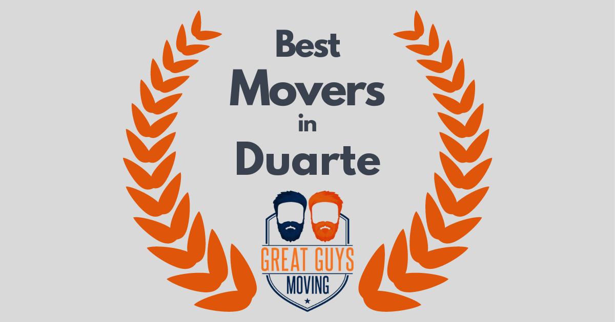 Best Movers in Duarte, CA