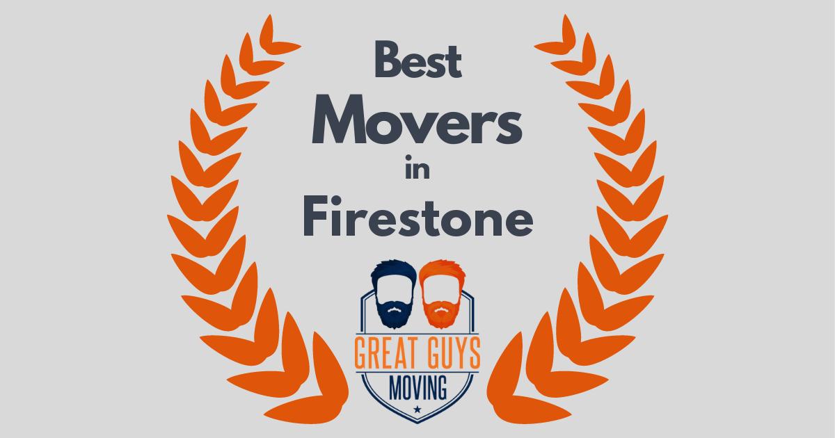 Best Movers in Firestone, CO