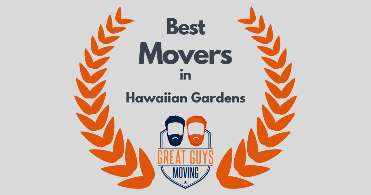 Best Movers in Hawaiian Gardens, CA