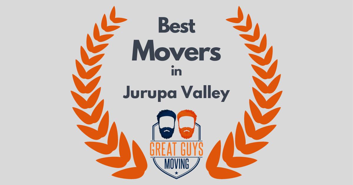 Best Movers in Jurupa Valley, CA