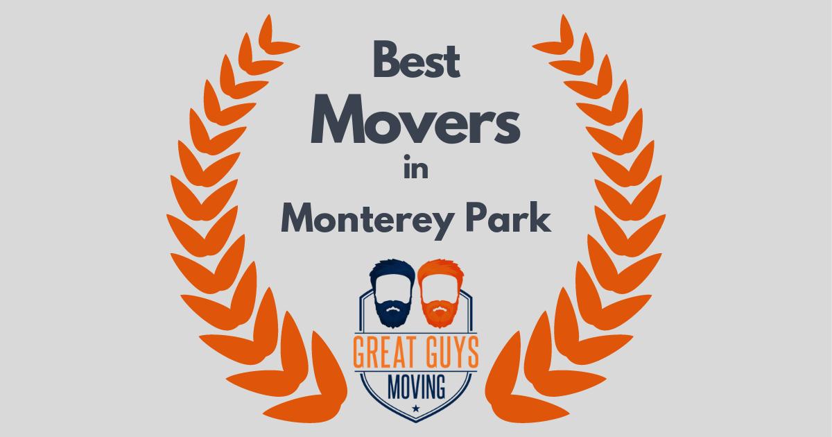 Best Movers in Monterey Park, CA