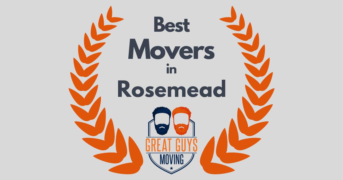 Best Movers in Rosemead, CA