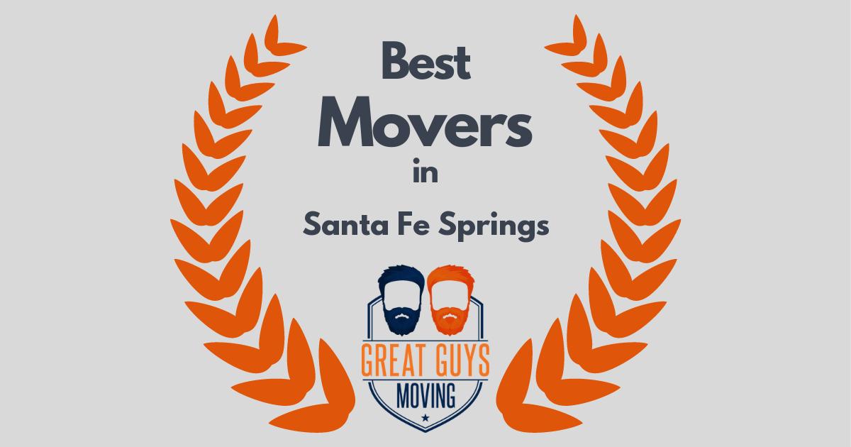Best Movers in Santa Fe Springs, CA