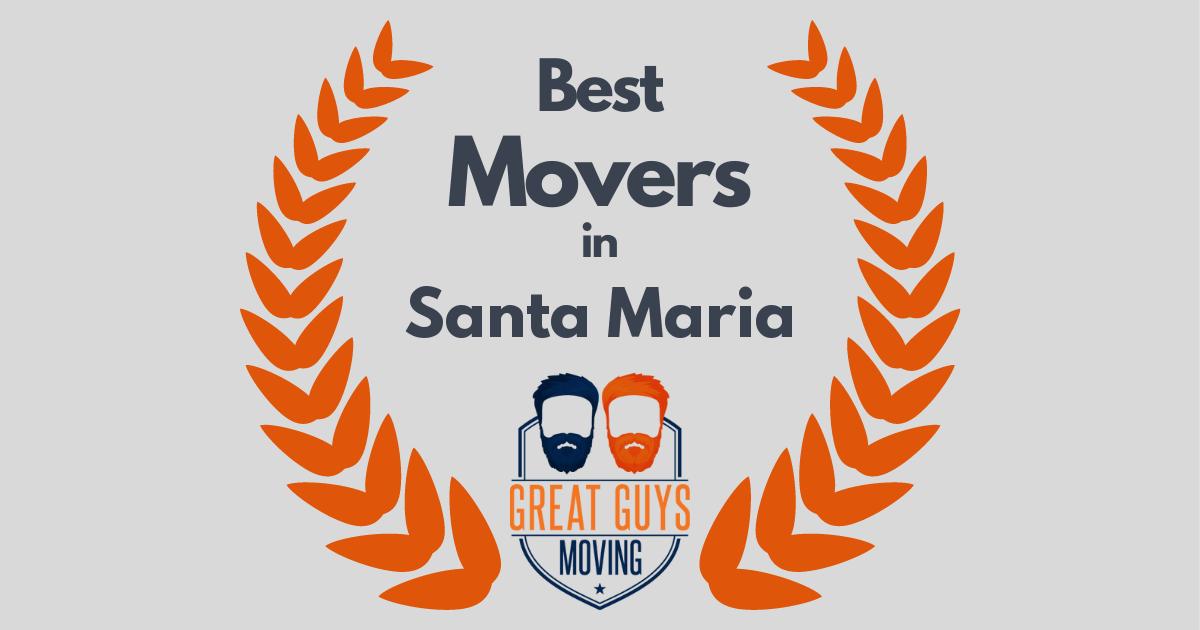Best Movers in Santa Maria, CA
