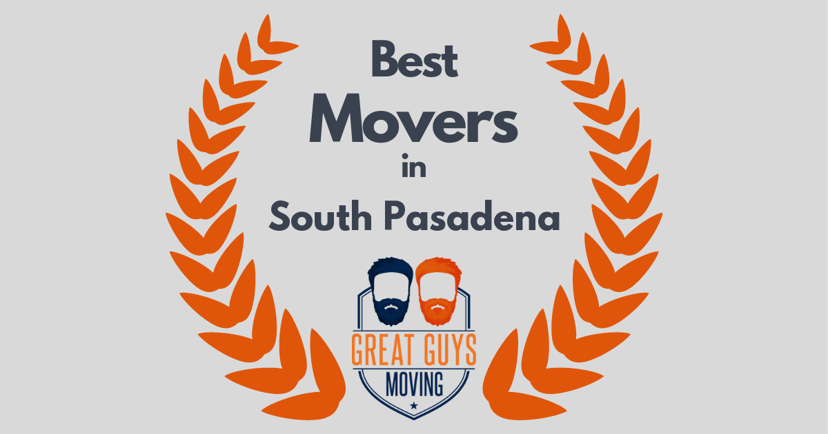 Best Movers in South Pasadena, CA