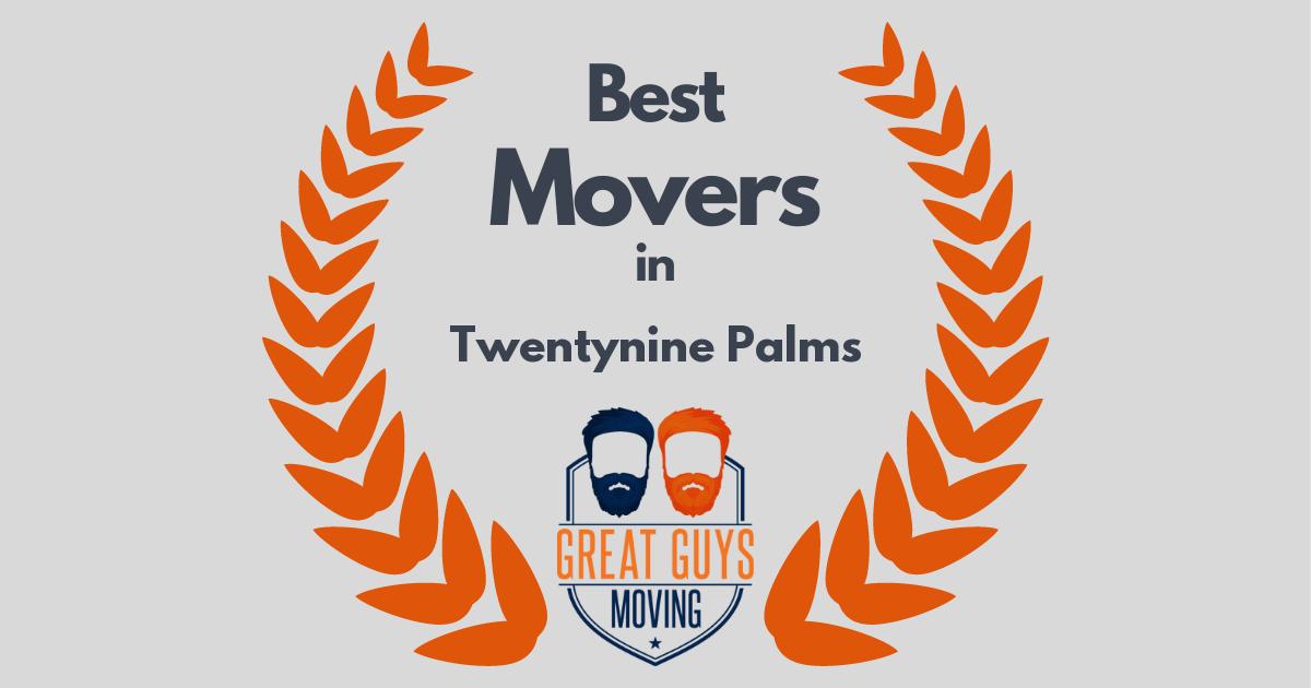Best Movers in Twentynine Palms, CA