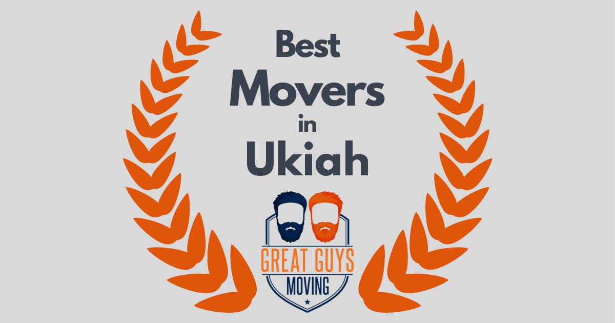 Best Movers in Ukiah, CA