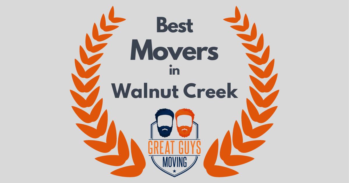 Best Movers in Walnut Creek, CA