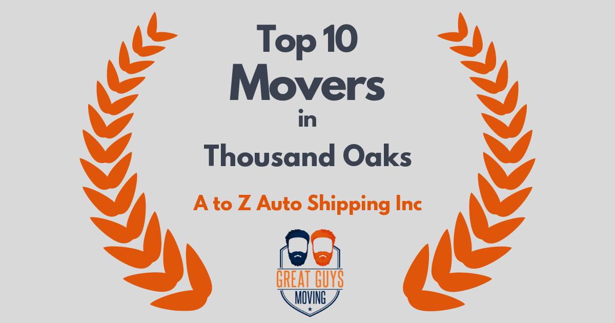 Top 10 Movers in Thousand Oaks, CA