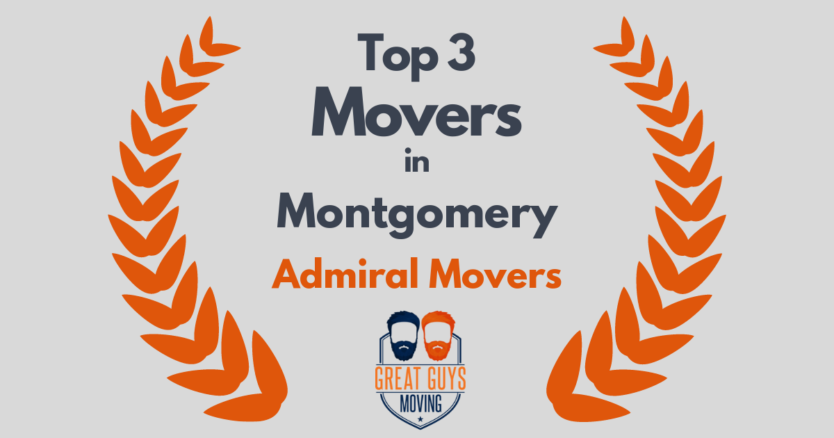 #1 Movers in Montgomery, AL