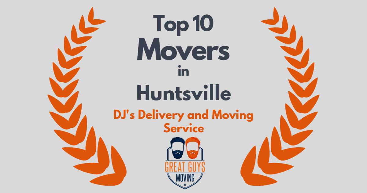 Top 10 Movers in Huntsville, AL