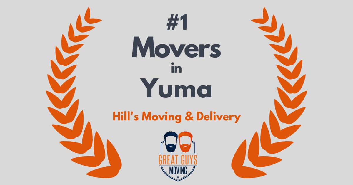 Top 3 Movers in Yuma, AZ