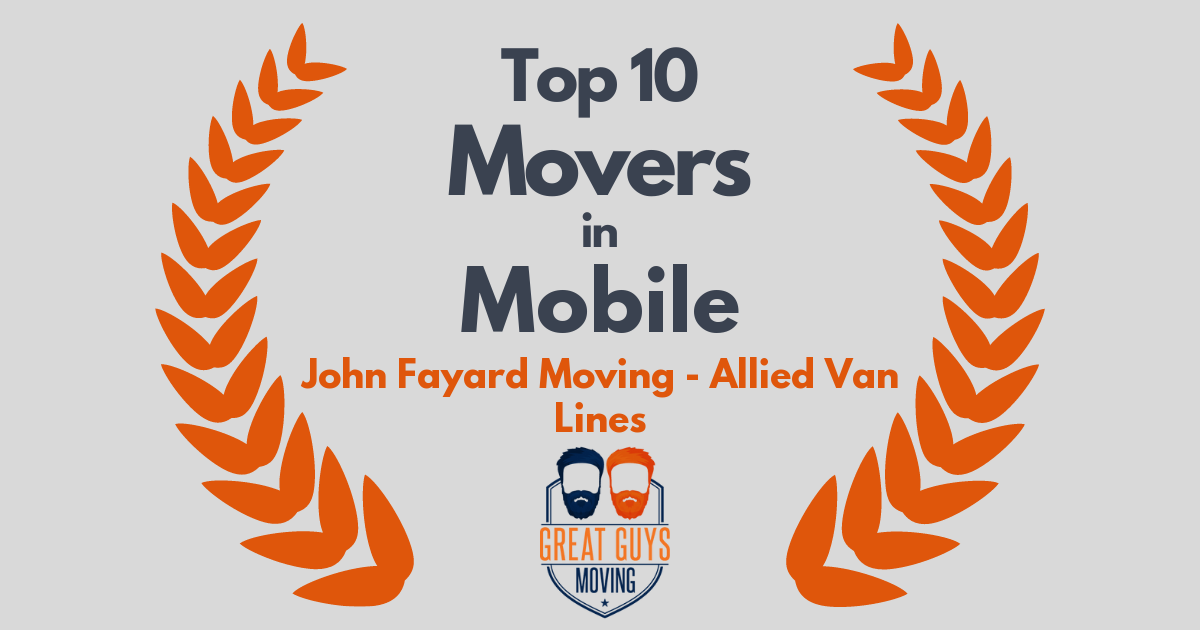 Top 10 Movers in Mobile, AL