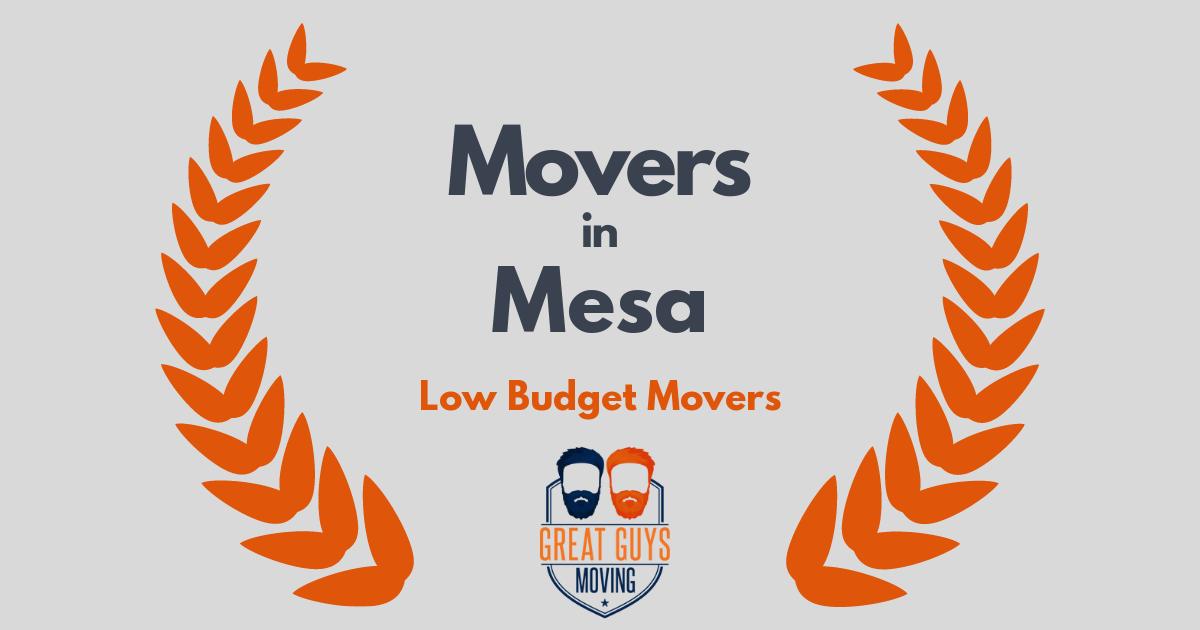 Top 10 Movers in Mesa, AZ