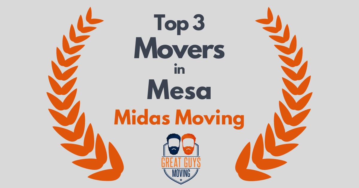 Top 3 Movers in Mesa, AZ
