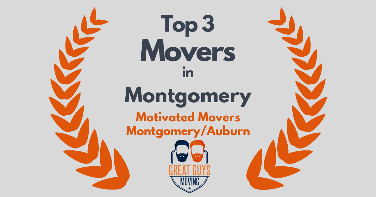 Top 3 Movers in Montgomery, AL