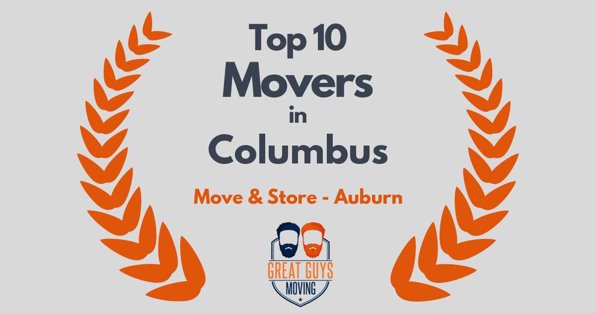 #1 Movers in Auburn, AL