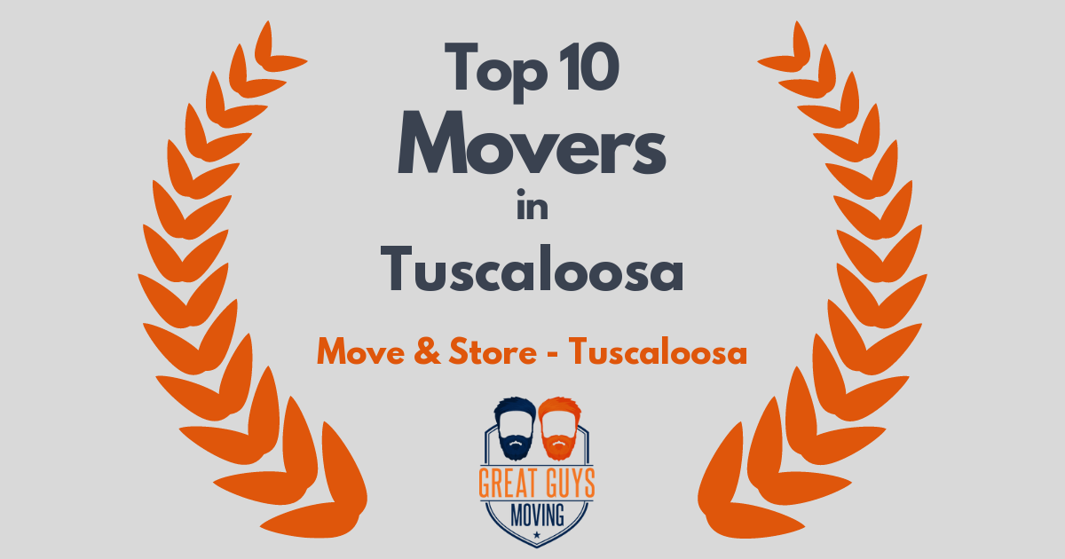 Top 10 Movers in Tuscaloosa, AL