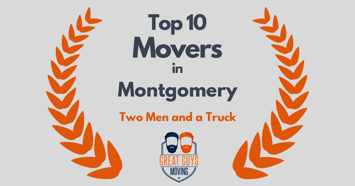 Top 10 Movers in Montgomery, AL