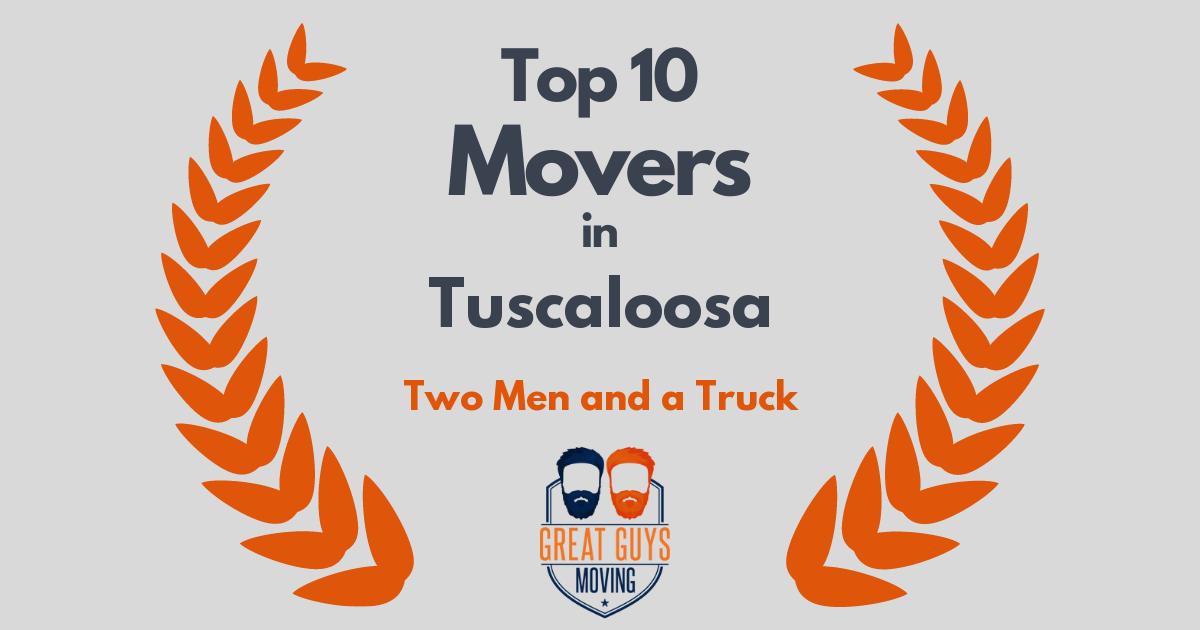 Top 3 Movers in Tuscaloosa, AL