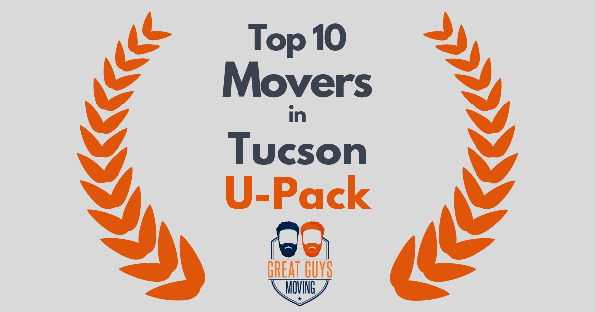 Top 10 Movers in Tucson, AZ