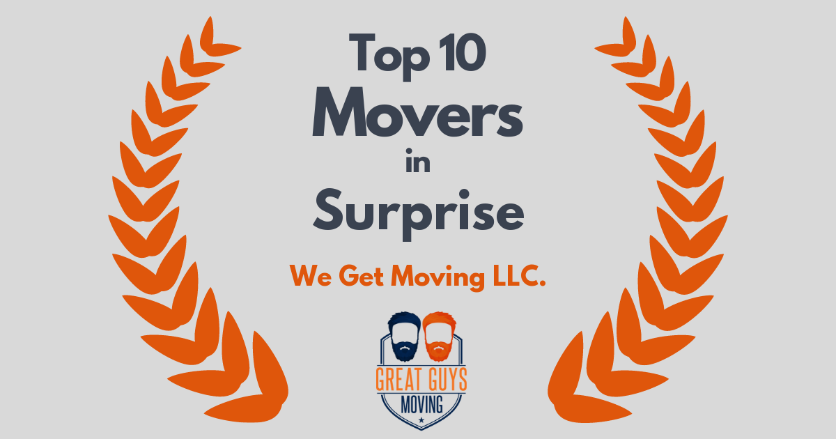Top 10 Movers in Surprise, AZ