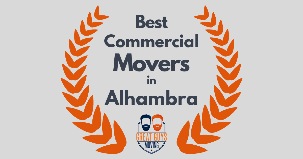 Best Commercial Movers in Alhambra, CA