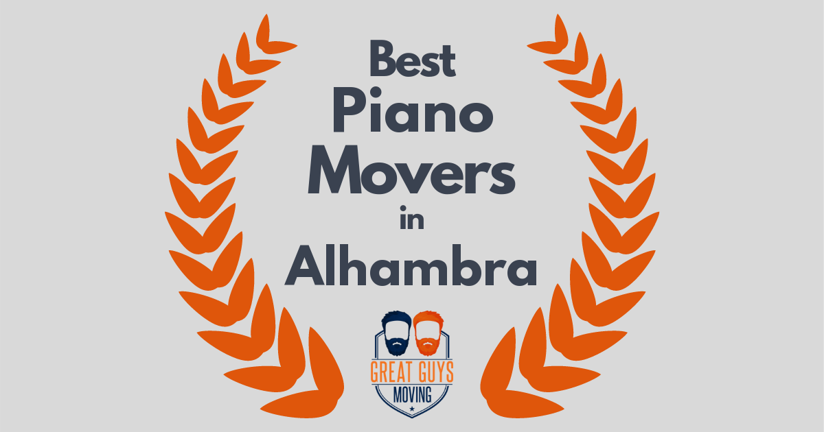 Best Piano Movers in Alhambra, CA
