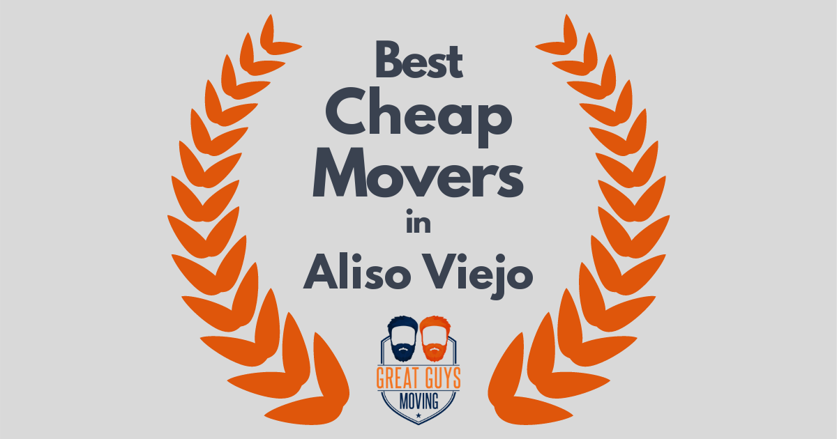 Best Cheap Movers in Aliso Viejo, CA