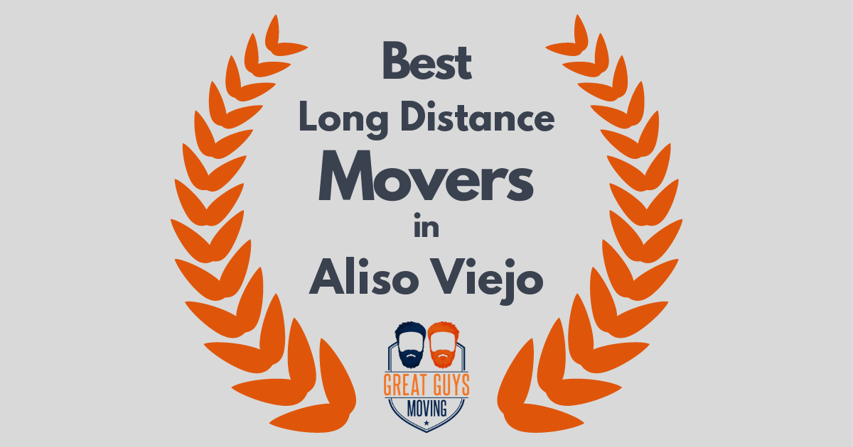Best Long Distance Movers in Aliso Viejo, CA