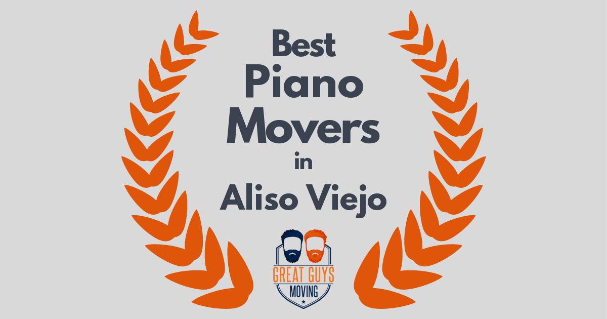 Best Piano Movers in Aliso Viejo, CA