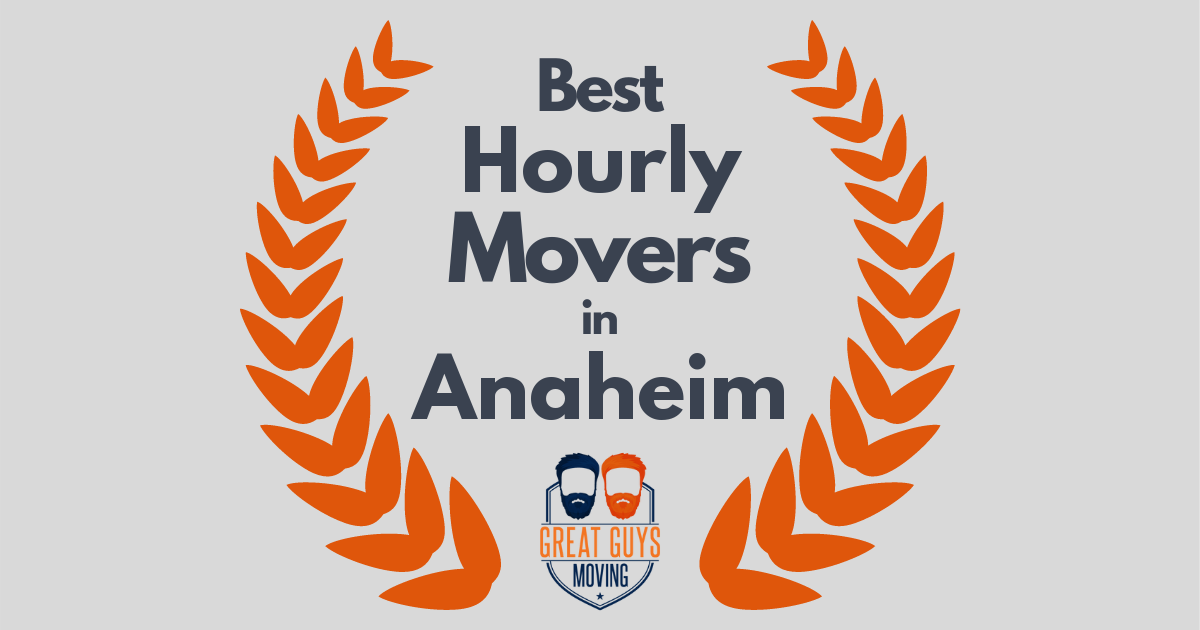 Best Hourly Movers in Anaheim, CA