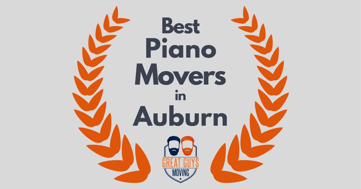 Best Piano Movers in Auburn, AL