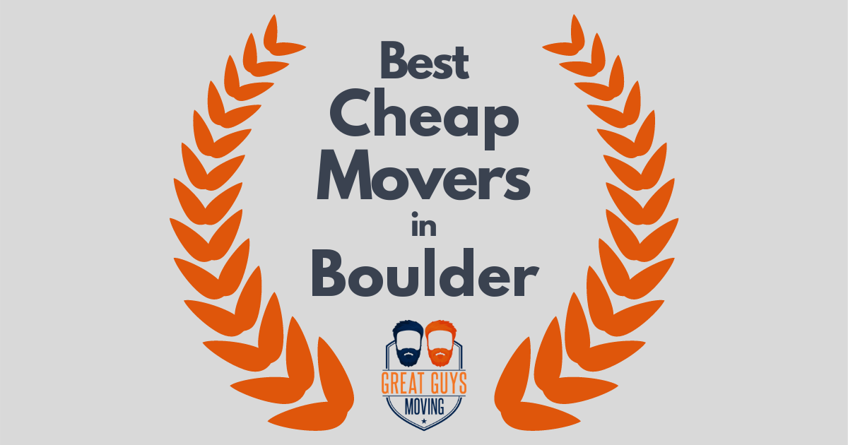 Best Cheap Movers in Boulder, CO