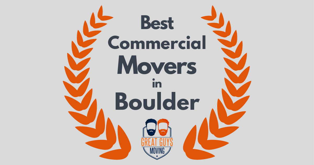 Best Commercial Movers in Boulder, CO