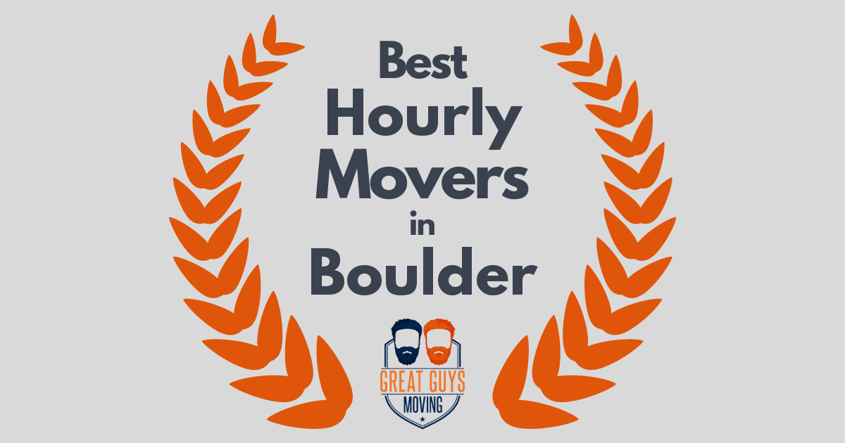 Best Hourly Movers in Boulder, CO