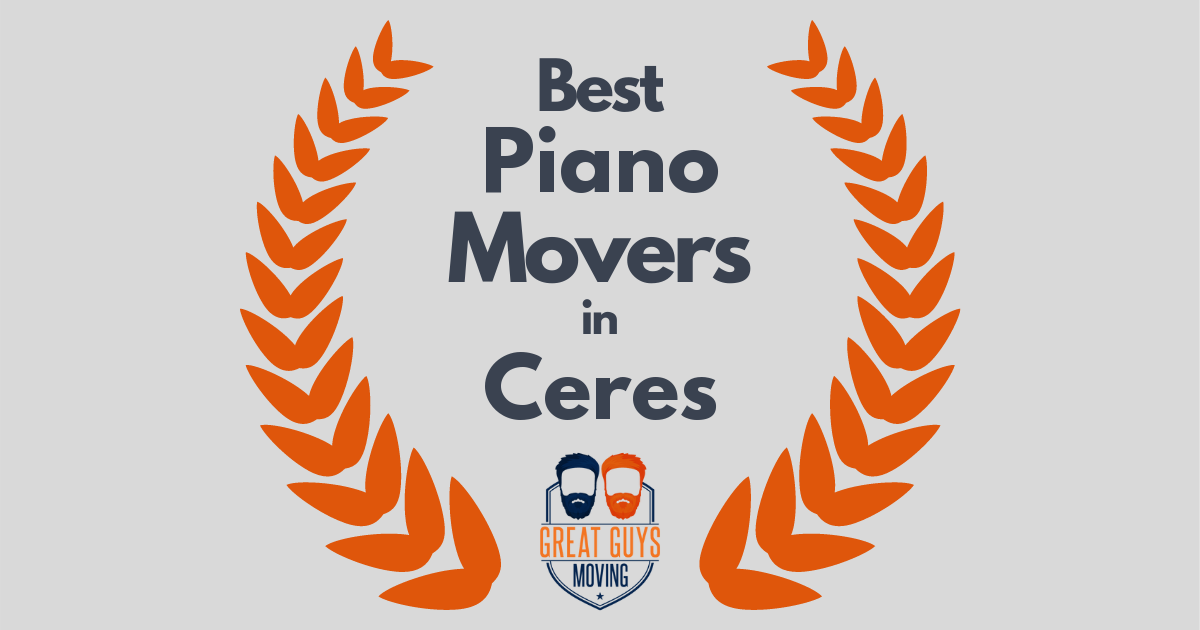 Best Piano Movers in Ceres, CA