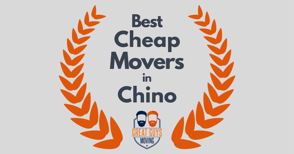 Best Cheap Movers in Chino, CA