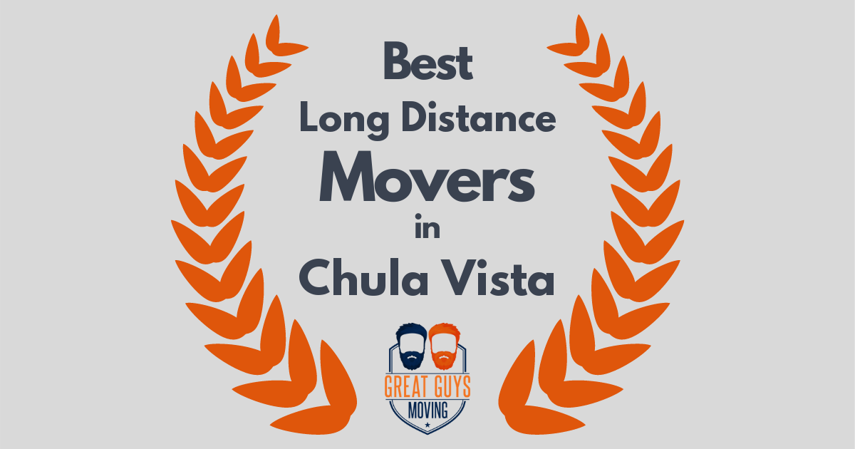 Best Long Distance Movers in Chula Vista, CA