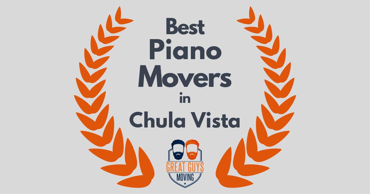 Best Piano Movers in Chula Vista, CA