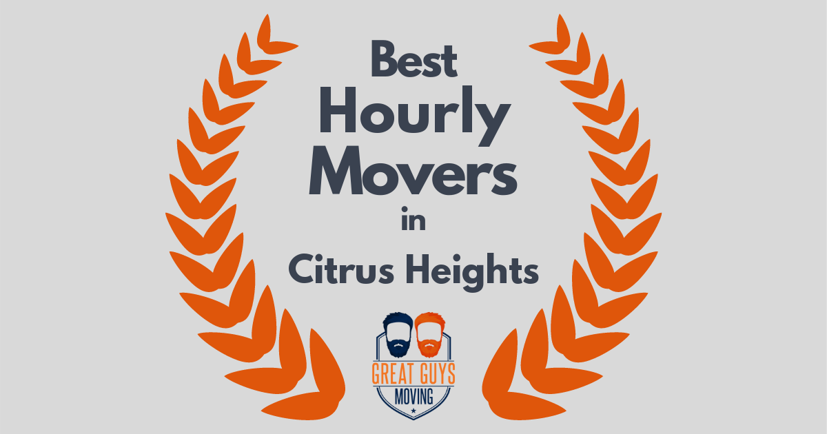 Best Hourly Movers in Citrus Heights, CA