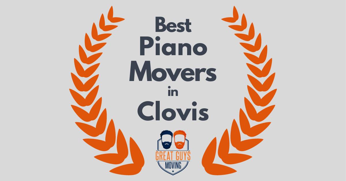 Best Piano Movers in Clovis, CA