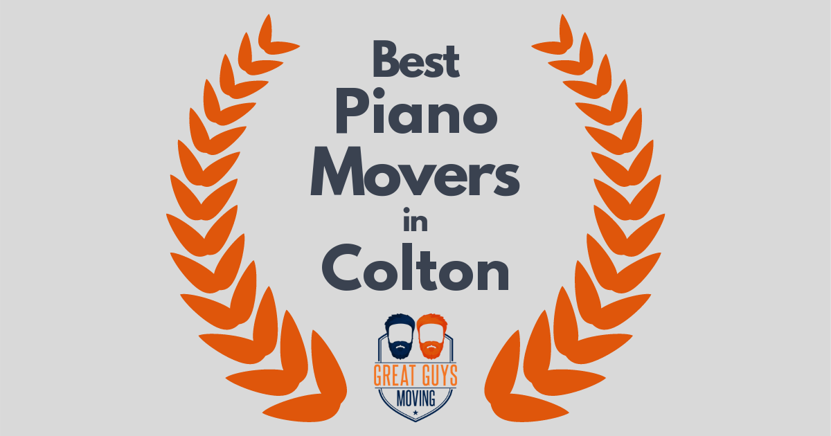 Best Piano Movers in Colton, CA