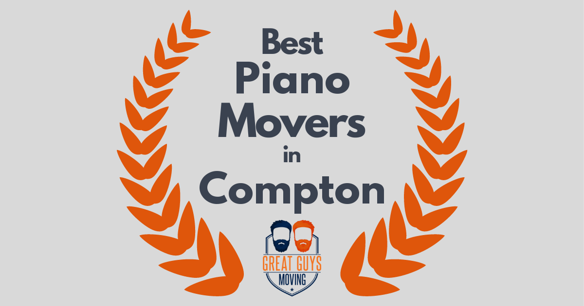 Best Piano Movers in Compton, CA