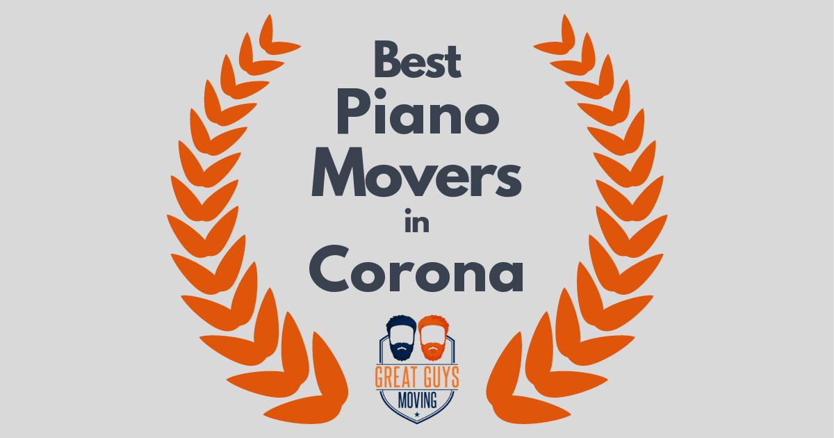 Best Piano Movers in Corona, CA
