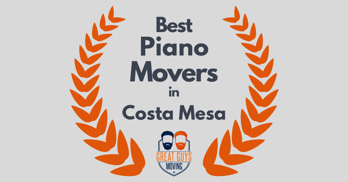 Best Piano Movers in Costa Mesa, CA