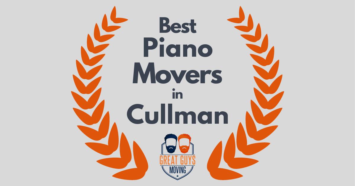 Best Piano Movers in Cullman, AL