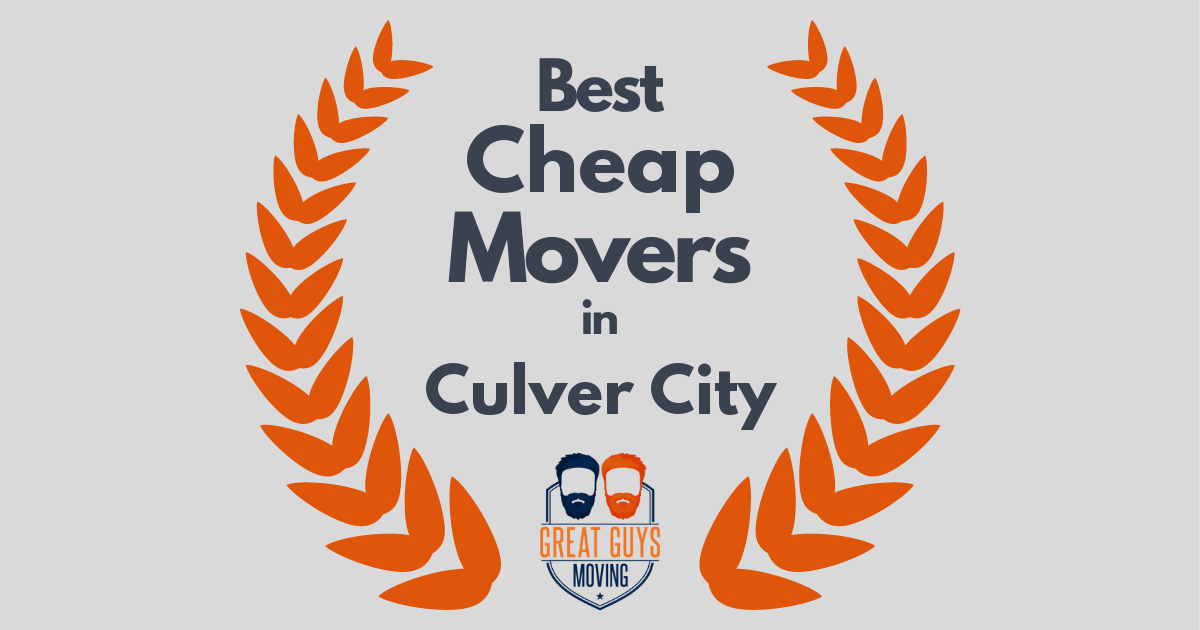 Best Cheap Movers in Culver City, CA